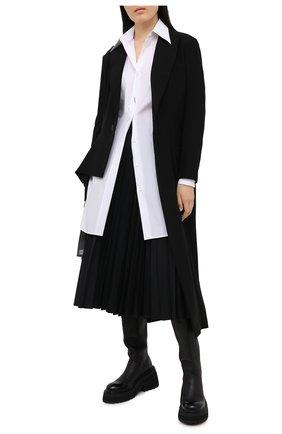 Женская юбка VALENTINO черного цвета, арт. VB3RA7F54H2 | Фото 2