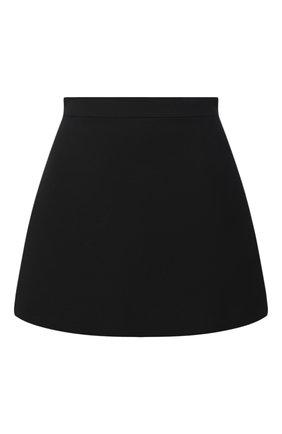 Женская юбка-шорты VALENTINO черного цвета, арт. VB3RA7661CF | Фото 1