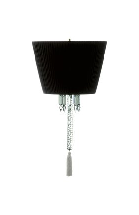Лампа подвесная torch BACCARAT черного цвета, арт. 2 605 736 | Фото 1