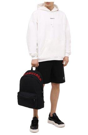 Мужской текстильный рюкзак wheel BALENCIAGA черного цвета, арт. 507460/H853X | Фото 2