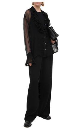 Женское боди JIL SANDER черного цвета, арт. JSCQ705041-WQ477108   Фото 2