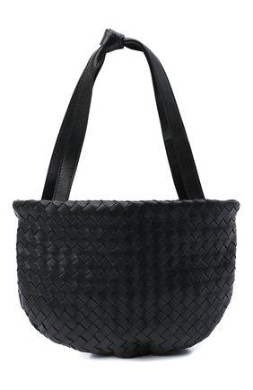 Женская сумка BOTTEGA VENETA черного цвета, арт. 651811/V08Z1 | Фото 1