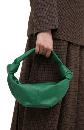 Женская сумка BOTTEGA VENETA зеленого цвета, арт. 629635/VCP41 | Фото 2