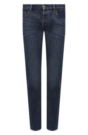 Мужские джинсы PRADA синего цвета, арт. GEPX96-1VG2-F01AE-202 | Фото 1