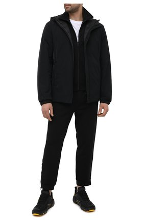 Мужской толстовка PRADA черного цвета, арт. SJC564-1MO3-F0806-202 | Фото 2