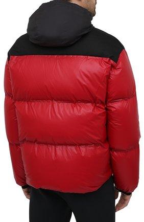Мужская пуховая куртка PRADA красного цвета, арт. SGX257-1T2Y-F0927-202 | Фото 6 (Кросс-КТ: Куртка; Мужское Кросс-КТ: пуховик-короткий; Рукава: Длинные; Материал внешний: Синтетический материал; Длина (верхняя одежда): Короткие; Стили: Минимализм)