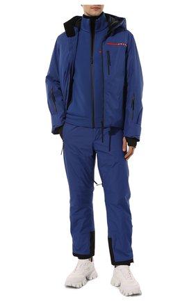 Мужской толстовка PRADA синего цвета, арт. SJC577-LJ4-F0C2V-202 | Фото 2
