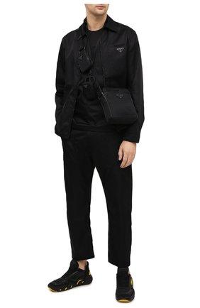 Мужская сумка PRADA черного цвета, арт. 2VH112-5ECO-F0002-WOO | Фото 2