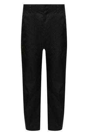 Мужские брюки PRADA черного цвета, арт. SPH85-1YFL-F0002-202 | Фото 1 (Материал внешний: Синтетический материал; Стили: Минимализм; Случай: Повседневный; Длина (брюки, джинсы): Укороченные)