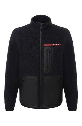 Мужская куртка PRADA черного цвета, арт. SGB659-1YDO-F0002-202   Фото 1