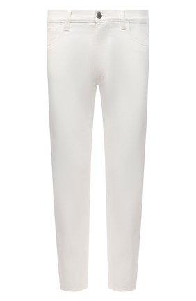 Мужские джинсы PRADA белого цвета, арт. GEP303-1UPA-F01CD-201 | Фото 1