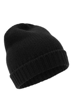 Мужская кашемировая шапка PRADA черного цвета, арт. UMD448-1KVZ-F0002-202 | Фото 1