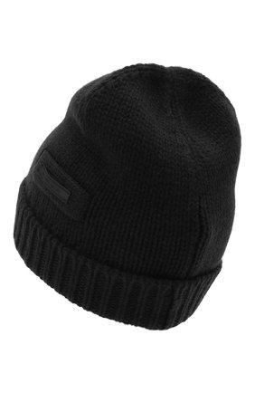 Мужская кашемировая шапка PRADA черного цвета, арт. UMD448-1KVZ-F0002-202 | Фото 2