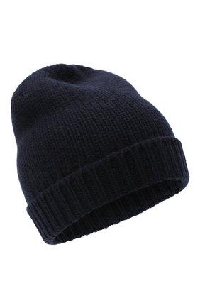 Мужская кашемировая шапка PRADA синего цвета, арт. UMD448-1KVZ-F0008-202 | Фото 1