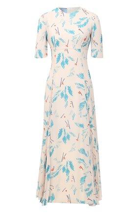 Женское платье PRADA бирюзового цвета, арт. P3B24-1XFF-F0136-202 | Фото 1