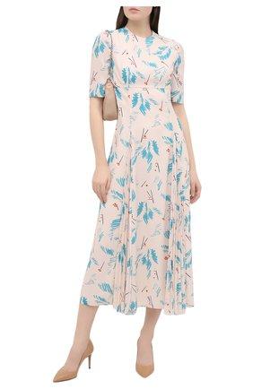 Женское платье PRADA бирюзового цвета, арт. P3B24-1XFF-F0136-202 | Фото 2