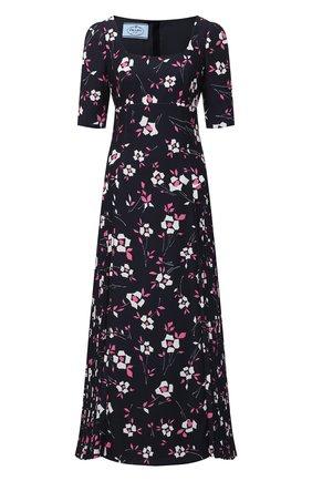 Женское платье PRADA черного цвета, арт. P3B27-1XH1-F0T08-202 | Фото 1