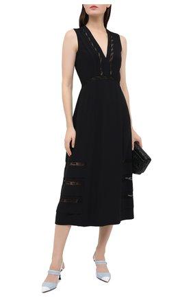 Женское платье PRADA черного цвета, арт. P3B30-1W5N-F0806-202 | Фото 2