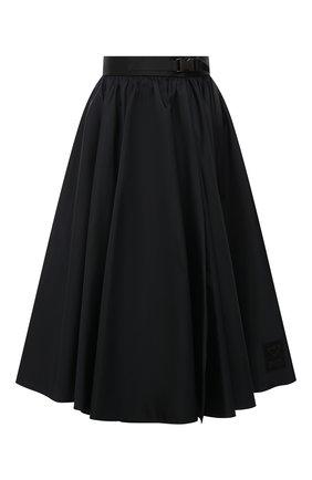 Женская юбка PRADA черного цвета, арт. 21H878-1YFL-F0002-202 | Фото 1