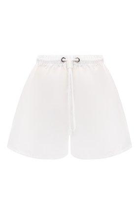 Женские шорты PRADA белого цвета, арт. 22H840-1YFL-F0009-202 | Фото 1