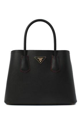 Женская сумка prada double medium PRADA черного цвета, арт. 1BG887-2A4A-F0LJ4-OOO | Фото 1