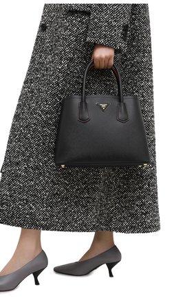 Женская сумка prada double medium PRADA черного цвета, арт. 1BG887-2A4A-F0LJ4-OOO | Фото 2