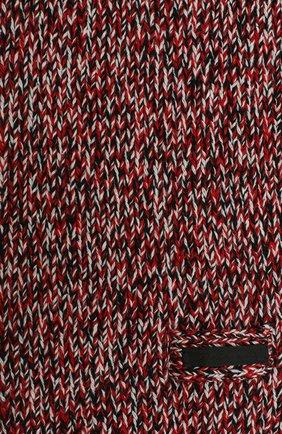 Женский шарф из шерсти и кашемира PRADA разноцветного цвета, арт. UMS389-1XSW-F0N98-202   Фото 2