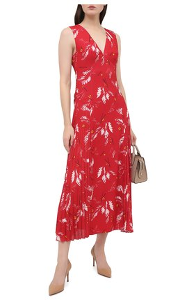 Женское платье PRADA красного цвета, арт. P3B23-1XFF-F0011-202 | Фото 2
