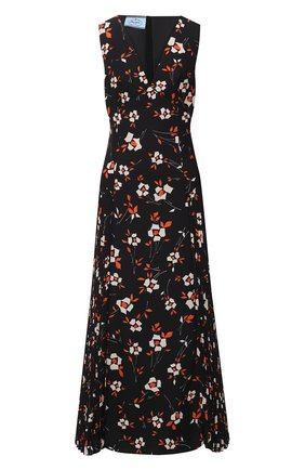 Женское платье PRADA черного цвета, арт. P3B23-1XH1-F0002-202 | Фото 1