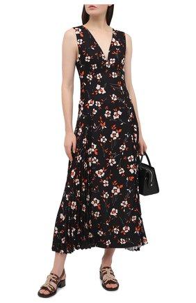 Женское платье PRADA черного цвета, арт. P3B23-1XH1-F0002-202 | Фото 2