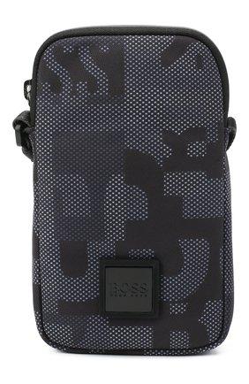 Мужская текстильная сумка BOSS синего цвета, арт. 50443441 | Фото 1