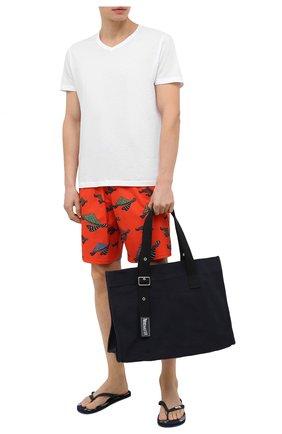 Мужская пляжная сумка VILEBREQUIN темно-синего цвета, арт. BSUE9103/390 | Фото 2