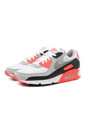 "Мужские кроссовки air max 90 ""infrared"" NIKELAB розового цвета, арт. CT1685-100 | Фото 1"