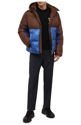 Мужская утепленная куртка NEIL BARRETT коричневого цвета, арт. BSP528V P217C/CG | Фото 2