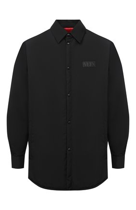 Мужская утепленная куртка VALENTINO черного цвета, арт. VV3CIA9670U   Фото 1 (Материал подклада: Синтетический материал; Материал внешний: Синтетический материал; Длина (верхняя одежда): Короткие, До середины бедра; Кросс-КТ: Куртка, Ветровка; Рукава: Длинные; Стили: Минимализм)