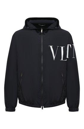 Мужская куртка VALENTINO темно-синего цвета, арт. VV3CI36871M   Фото 1