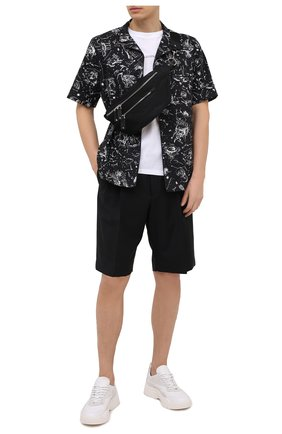 Мужская текстильная поясная сумка valentino garavani VALENTINO черного цвета, арт. VY2B0664/RPY | Фото 2