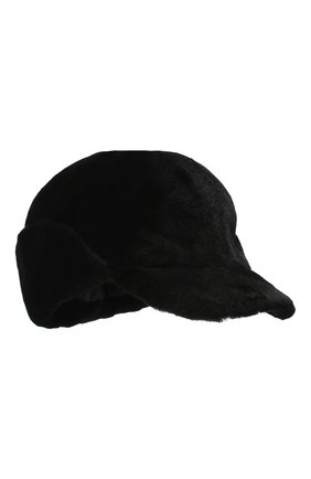 Мужской кепка из меха норки FURLAND черного цвета, арт. 0167202150138600000 | Фото 1