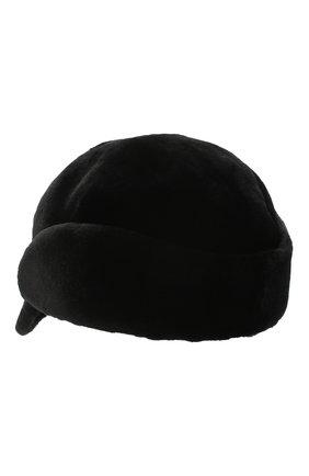 Мужской кепка из меха норки FURLAND черного цвета, арт. 0167202150138600000 | Фото 2