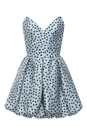 Женское шелковое платье RASARIO голубого цвета, арт. 0109W20_41 | Фото 1