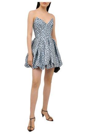 Женское шелковое платье RASARIO голубого цвета, арт. 0109W20_41 | Фото 2