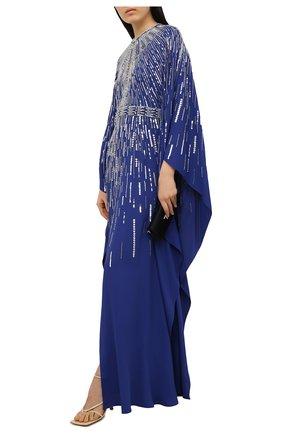 Женское платье с пайетками ZUHAIR MURAD синего цвета, арт. KAP20033/CRCA008 | Фото 2