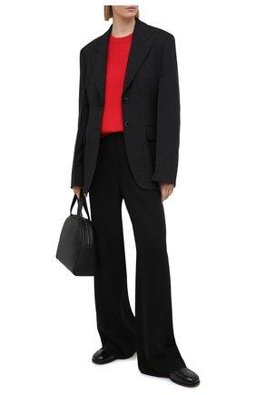 Женский кашемировый пуловер BRUNELLO CUCINELLI красного цвета, арт. M12170000 | Фото 2