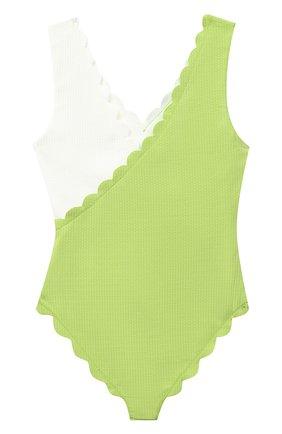 Детского слитный купальник MARYSIA BUMBY светло-зеленого цвета, арт. B0067   Фото 2