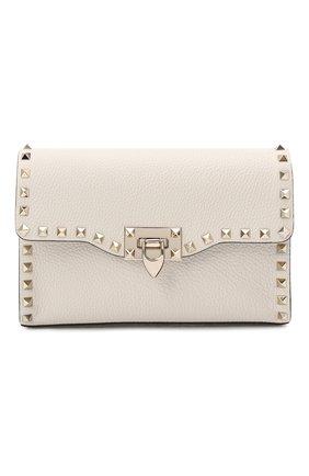 Женская сумка valentino garavani rockstud medium VALENTINO кремвого цвета, арт. VW2B0181/VSF | Фото 1