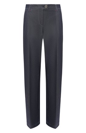 Женские брюки GIORGIO ARMANI синего цвета, арт. 1SHPP0G8/T02FH | Фото 1