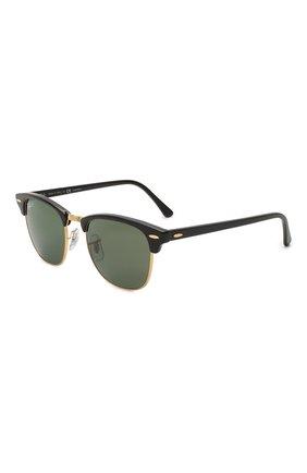 Мужские солнцезащитные очки RAY-BAN черного цвета, арт. 3016-901/58 | Фото 1