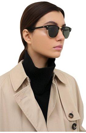 Мужские солнцезащитные очки RAY-BAN черного цвета, арт. 3016-901/58 | Фото 2