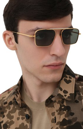Мужские солнцезащитные очки JACQUES MARIE MAGE золотого цвета, арт. SCARPA JMMSC-40 | Фото 2