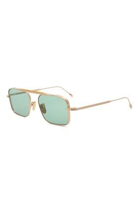 Мужские солнцезащитные очки JACQUES MARIE MAGE бирюзового цвета, арт. SCARPA JMMSC-54 | Фото 1
